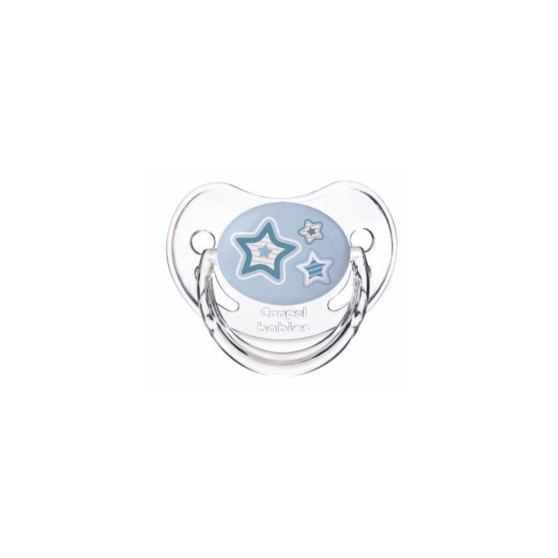 Tétines «Bébé nouveau-né» Canpol Bleu