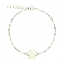 Bracelet Argent - Médaille...