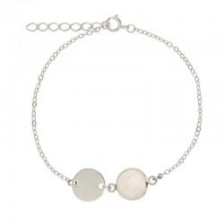 Bracelet Petite médaille 10...