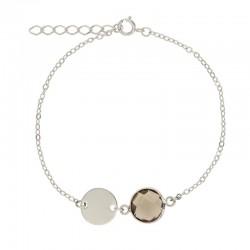 Bracelet Or ou Argent avec...