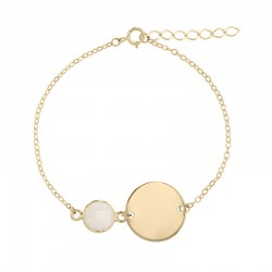 Bracelet Plaqué Or ou...