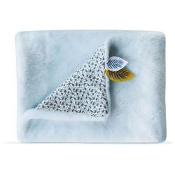 Yoca Mon Petit Koala Plaid/Couverture Doudou et Compagnie Bleu