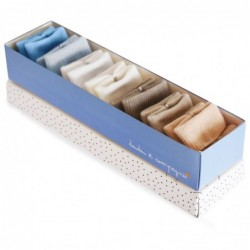 Coffret Chaussettes Taupe &...