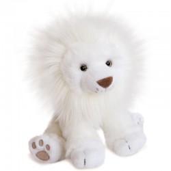 Doudou Lion des Neiges 28cm