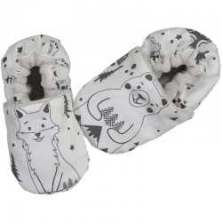 "Chaussons Souples ""Fox and..."