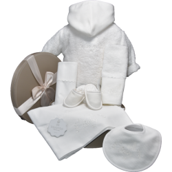 Coffret Cadeau Baby Blanc...