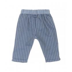 Pantalon à Rayure Laranjinha