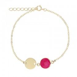 Bracelet Or Petite médaille...