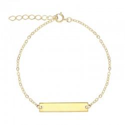 Bracelet Or et sa Médaille...