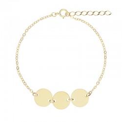 Bracelet Or et ses 3...