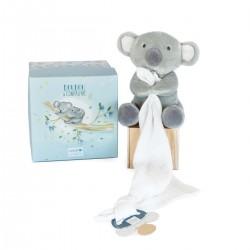Pantin avec Doudou Koala Doudou & Compagnie