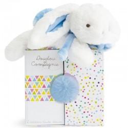 Coucou Mon Doudou - Lapin Bleu Pastel Doudou et Compagnie
