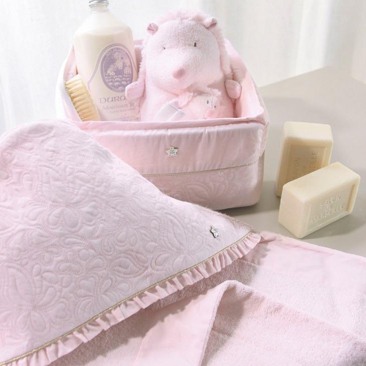 serviette de bain pour bébé personnalisé